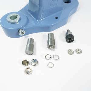 10,5 mm capped prong snap fastener die set
