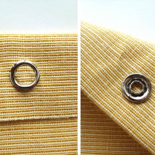 10,5 mm hollow prong snap fastener die set