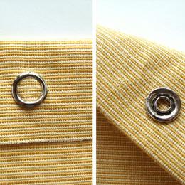 10,5 mm hollow prong snap fastener die set - Thumbnail
