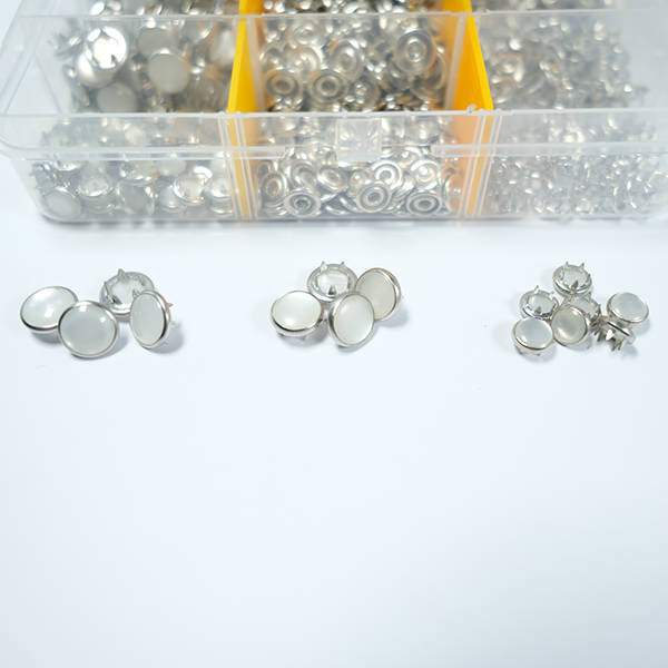 10,5 mm pearl snap fastener die set