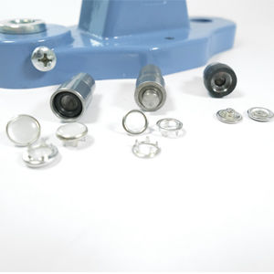 10,5 mm pearl snap fastener die set