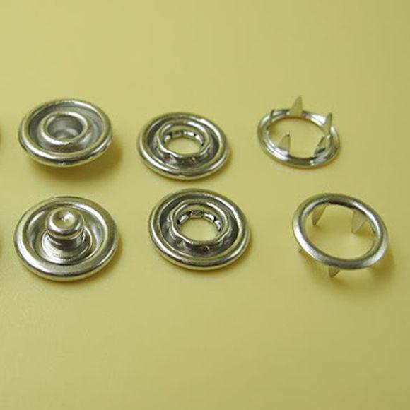 7,5 mm hollow prong snap fastener die set