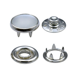 - 7,5 mm pearl snap fastener die set