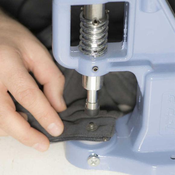 9,5 mm pearl snap fastener die set