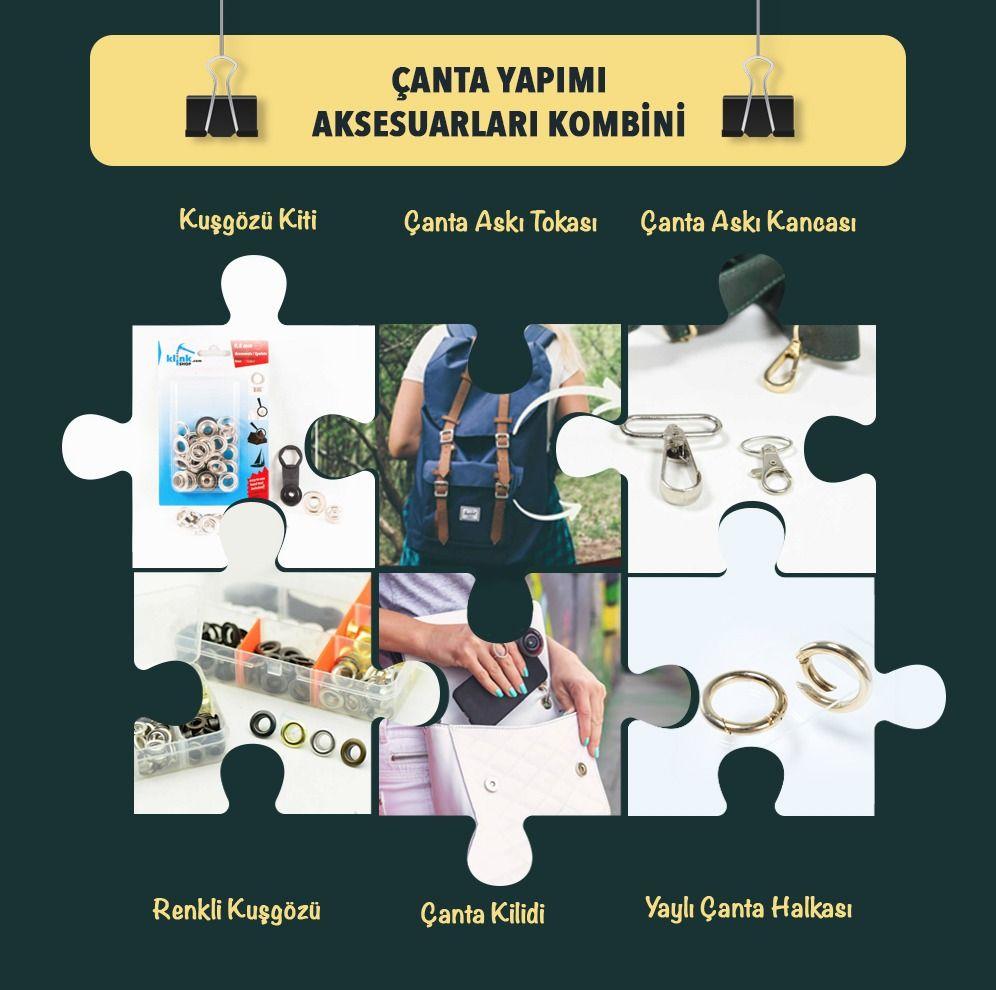 ÇANTA YAPIM AKSESUARLARI / KİTLER