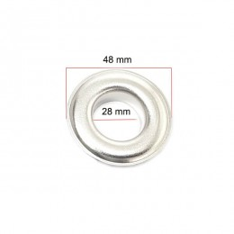 Big eyelets for tents and curtains - 28 mm (NO. 44) - Thumbnail