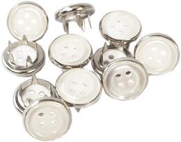 Button cap prong snap fastener application kit - 10,5 mm - Thumbnail