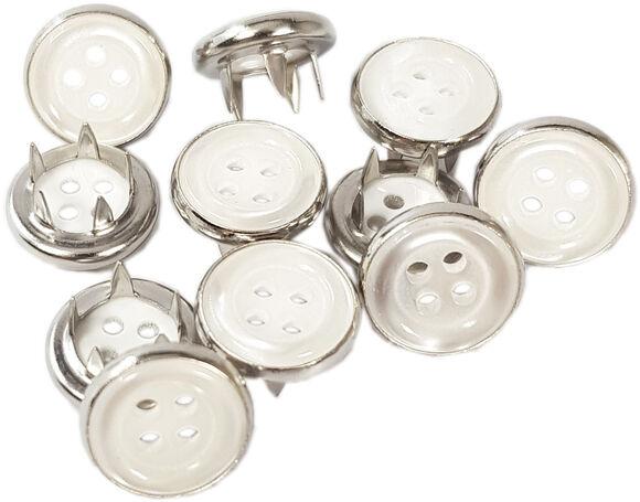 Button cap prong snap fastener application kit - 10,5 mm