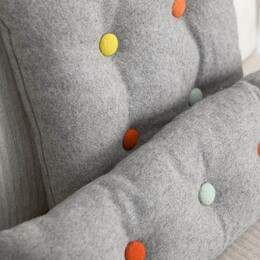 Button fabric covering kit - 25,5 mm (40 L) - Thumbnail