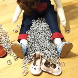 Büyük Boy Ayakkabı ve Çanta Tokası - Thumbnail