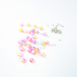 - Çakma İnci Boncuk Renkli Paketler (Aparatsız)