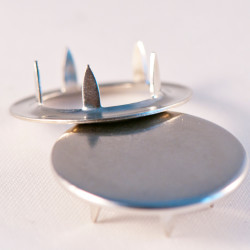 Capped prong snap fastener - 10,5 mm (without tool) - Thumbnail