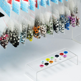 Colored eyelets spare packs (without tool) - Thumbnail