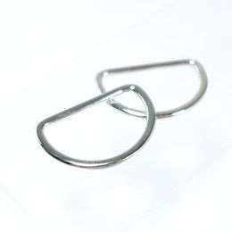 D-shaped buckle - Small sized - Thumbnail
