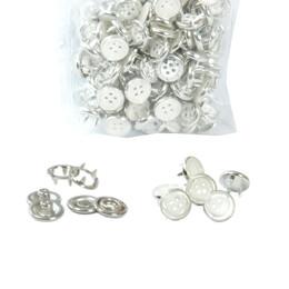 Düğme Görünümlü Çıtçıt- Aparatsız Malzeme Paketi - Thumbnail