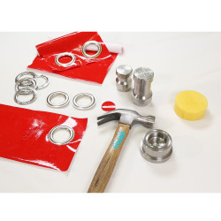 Eyelet and Grommet easy application tool (by hammering) - 40 mm - Thumbnail