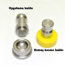 Eyelet and Grommet hole punching tool (by hammering) - 28 mm - Thumbnail