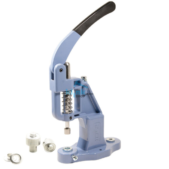 Eyelet application dies for hand presses