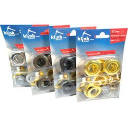 - Eyelets and grommets easy application kit-17 mm