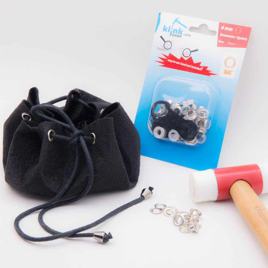 Eyelets and grommets easy application kit-6 mm