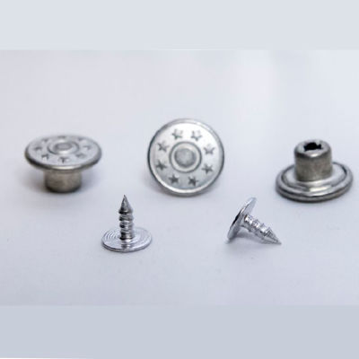 Jeans Button fastening die sets for press machines