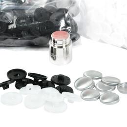 Kumaş Kaplamalı Düğme Yapımı Kiti 23 mm - Thumbnail