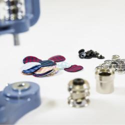 - Pres Makinesi için Kumaş Düğme Yapımı Kalıpları