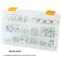 Plastic compartmented box - Thumbnail