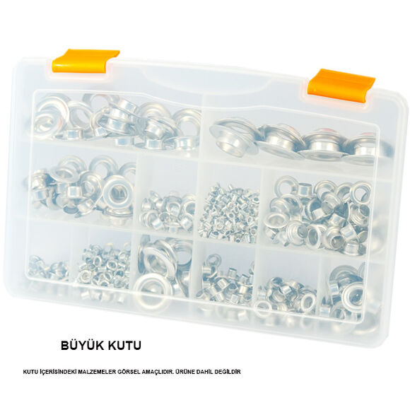 Plastic compartmented box