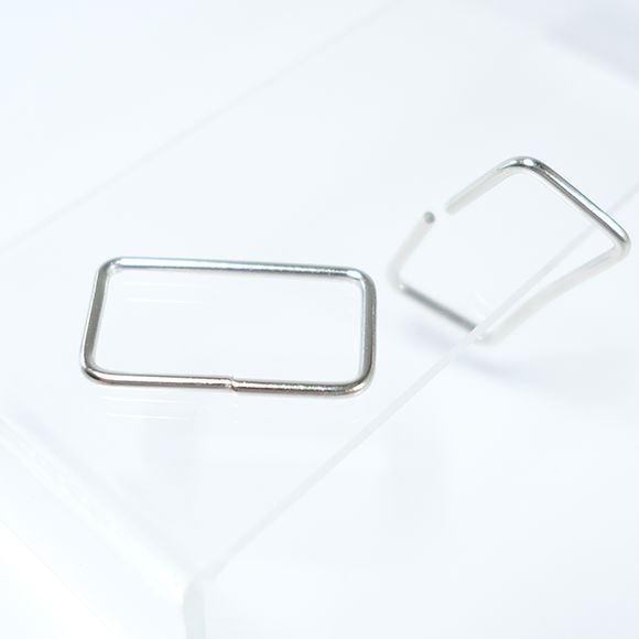 Rectangular buckle for bag straps - Big sized