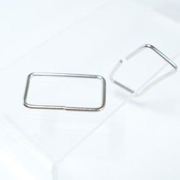 - ​Rectangular buckle for bag straps - Small sized