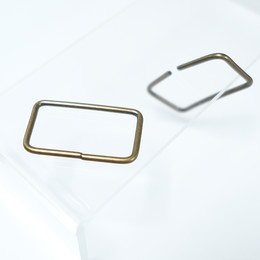 Rectangular buckle for bag straps - Small sized - Thumbnail