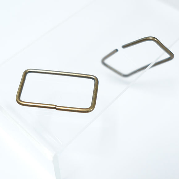 Rectangular buckle for bag straps - Small sized