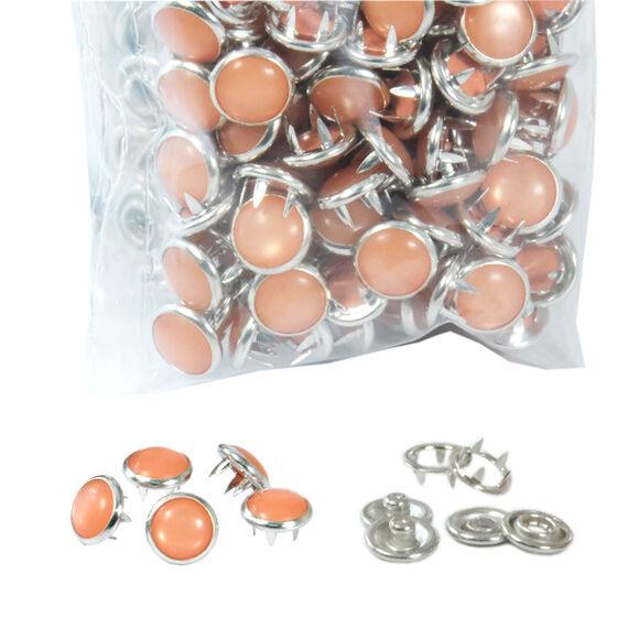 Renkli Sedefli Çıtçıtlar-10,5 mm - Aparatsız (kalıpsız) Yedek Paketler