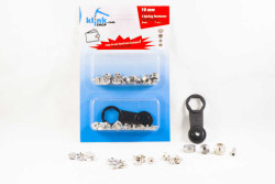- S - Spring Wallet & Shirt Fastener Easy Application Kit – 10 mm