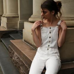 - Salopet (Bahçıvan) Pantolon Ve Etek Askı Tokası - Küçük (1)