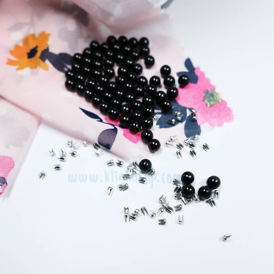Smart pearl fastening kit - Black color