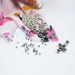 - Smart pearl fastening kit - Silver color