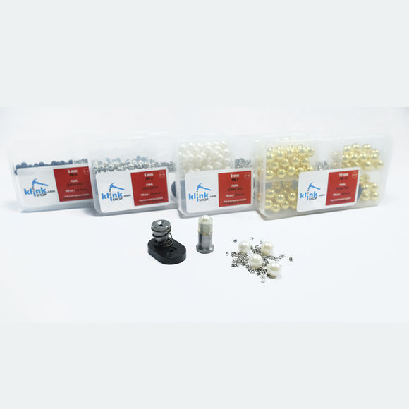 Smart pearl fastening kit - Silver color