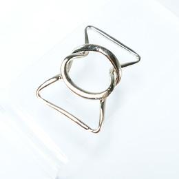 Snap on metal belt buckle - Big sized - Thumbnail