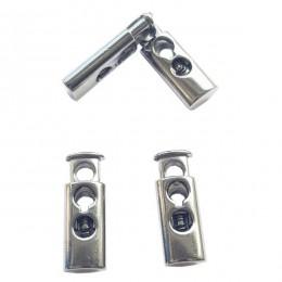 Spring cord lock, two holes - Long - Thumbnail