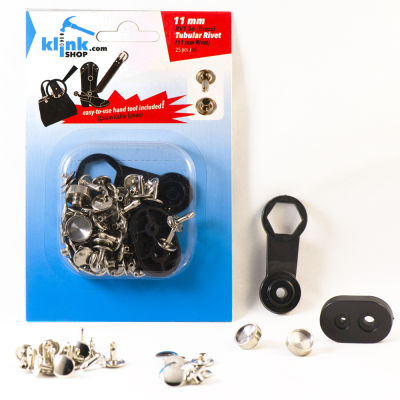 Tubular Rivets Easy Application kit – 11 mm
