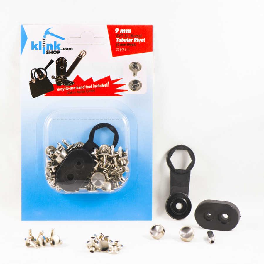 Tubular Rivets Easy Application kit – 9 mm