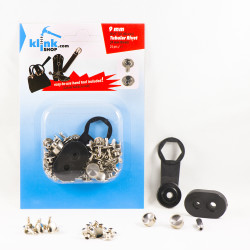 - Tubular Rivets Easy Application kit – 9 mm