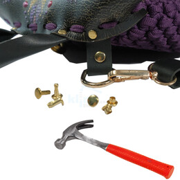 Tubular rivet spare package - 11 mm, without application tool - Thumbnail