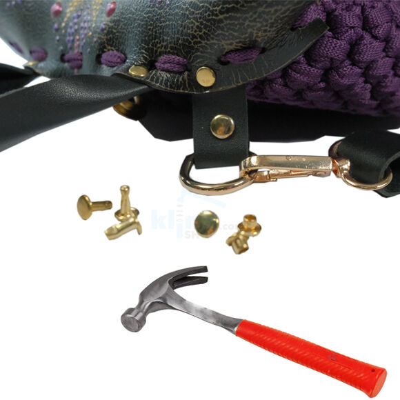 Tubular rivet spare package - 11 mm, without application tool